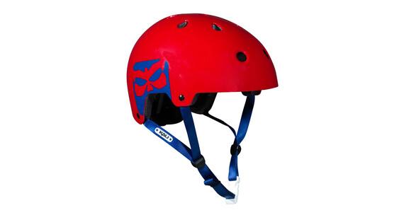 Kali Saha Commuter - Casco BMX - rojo